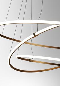 Závěsná lampa Fabbian Olympic F45 56W Triple 3000K - Bronze - F45 A11 76 small 9