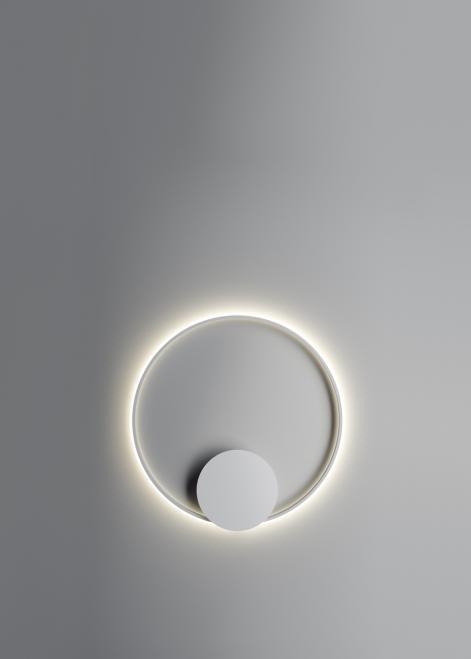 Nástěnná lampa Fabbian Olympic F45 56W 80cm 2700K - bílá - F45 G04 01