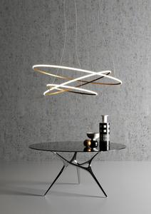 Nástěnná lampa Fabbian Olympic F45 98W 140cm 2700K - Bronz - F45 G08 76 small 10