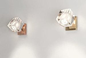 Nástěnná lampa Fabbian Cubetto D28 7W Chrome - transparentní - D28 D01 00 small 4