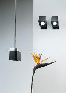 Nástěnná lampa Fabbian Cubetto D28 7W Chrome - transparentní - D28 D01 00 small 7