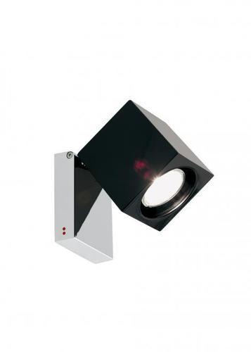 Reflektor Fabbian Cubetto D28 7W Chrome - černý - D28 G03 02
