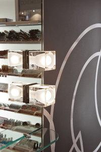 Nástěnná lampa Fabbian Cubetto D28 7W Chrome - černá - D28 E03 02 small 3