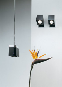 Nástěnná lampa Fabbian Cubetto D28 7W Chrome - černá - D28 E03 02 small 7