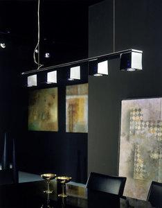 Nástěnná lampa Fabbian Cubetto D28 7W Chrome - černá - D28 E03 02 small 8
