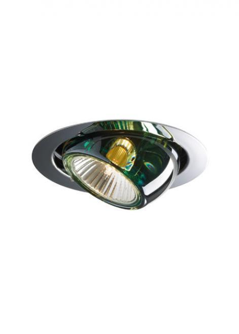 Fabbian Beluga Color D57 7W zapuštěné světlo - zelená - D57 F01 43