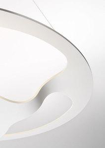 Závěsná lampa Fabbian Glu F31 17W - bílá - F31 A01 01 small 3