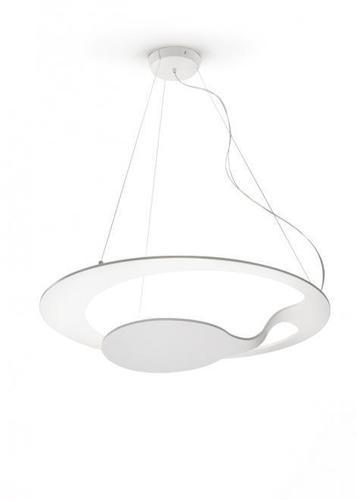 Závěsná lampa Fabbian Glu F31 17W - bílá - F31 A01 01