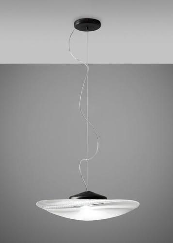 Závěsná lampa Fabbian Loop F35 7W Černá potahová vrstva - F35 A03 00