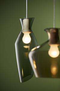 Závěsná lampa Fabbian Malvasia F52 12W 20cm - zelená - F52 A03 43 small 0