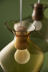 Závěsná lampa Fabbian Malvasia F52 12W 20cm - zelená - F52 A03 43 small 2