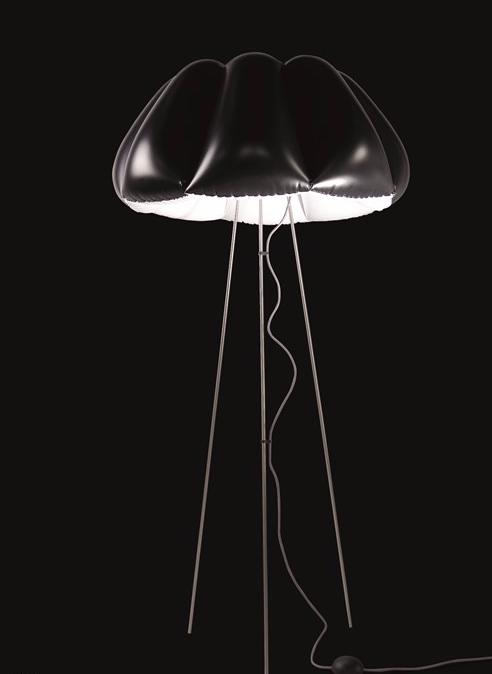 Stojací lampa PUFF BUFF ORCA