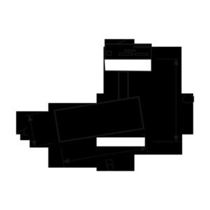 Mdr Branta Metalica 830 19w 230v 60. černé kasambi small 1