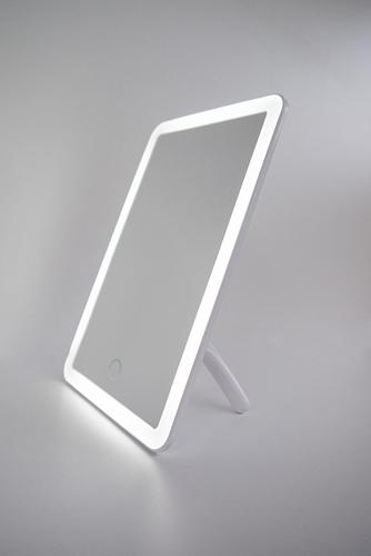 Přenosné kosmetické zrcátko s LED osvětlením