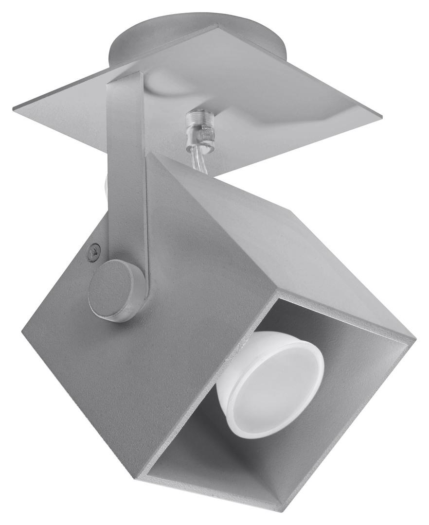 CEDRA 1 šedá stropní lampa