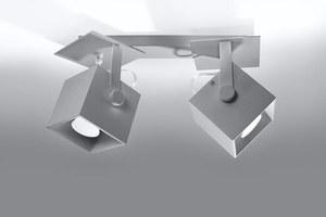 CEDRA 2 šedá stropní lampa small 1