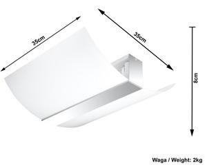 Bílý / chromový strop CARMEN small 3