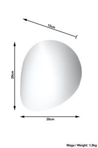 Bílá nástěnná lampa NEVE small 3