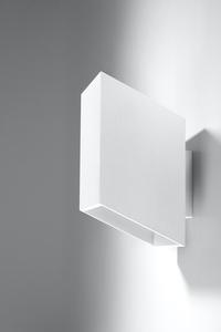 Nástěnná lampa TUNNEL bílá small 2
