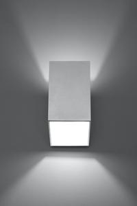 Nástěnná lampa TUNNEL bílá small 5