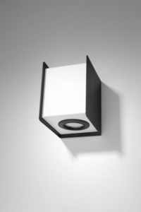 Nástěnná lampa STEREO 2 černá / bílá small 1