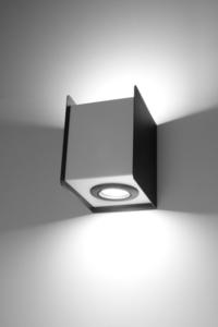 Nástěnná lampa STEREO 2 černá / bílá small 2