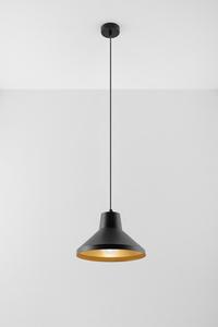 Závěsná lampa PALOMA černá / zlatá small 1