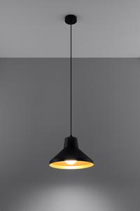 Závěsná lampa PALOMA černá / zlatá small 2