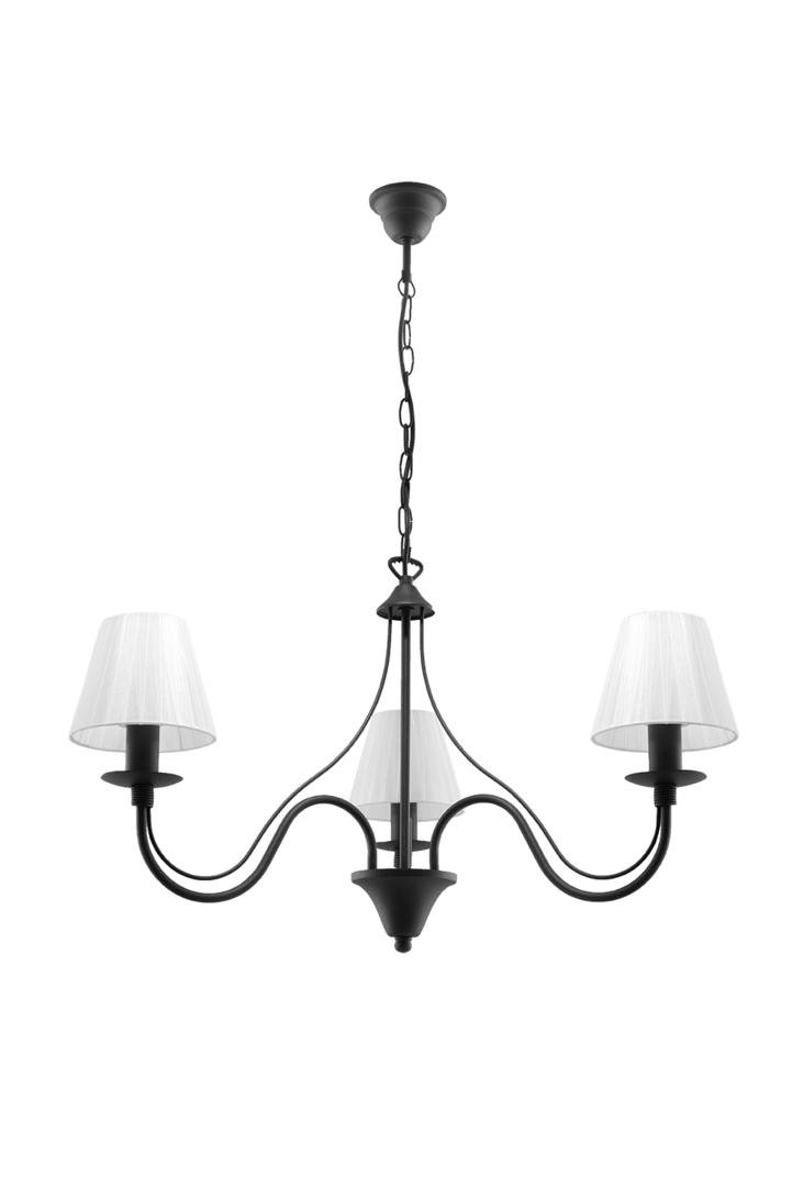 Lustr MINERWA, odstín 3 černý