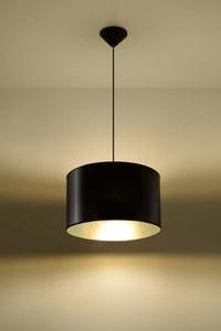Černá závěsná lampa LUXOR 30 small 2