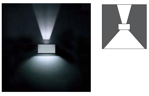 Venkovní nástěnné svítidlo ARES ZELDA 712755.2