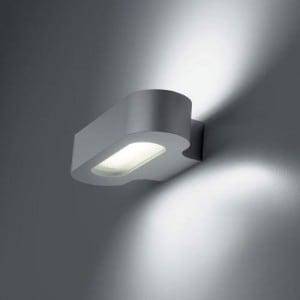 Nástěnná lampa Artemide Talo Fluo 0614020A Stříbrná šedá small 0