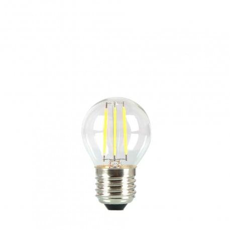 Žárovka pro věnec LED koule 45mm 3,7W transparentní barva velmi teplá