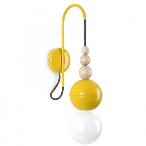 Loft Bala žlutá nástěnná lampa