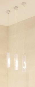 GOLDEN závěsná lampa bílá P0177 Max Light small 0