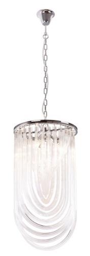 Plachtová závěsná lampa P0287 Max Light