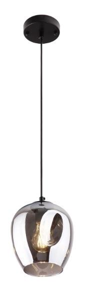 Spirit 1 kouřově šedá závěsná lampa P0289 Max Light