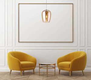 Závěsná lampa Zimba Amber P0300 Max Light small 1