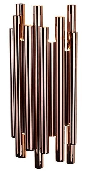 ORGANICKÁ COPPER nástěnná lampa s funkcí stmívání W0153D Max Light