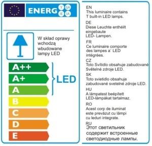 ORGANICKÁ CHROM nástěnná lampa s funkcí stmívání světla W0186D Max Light small 2