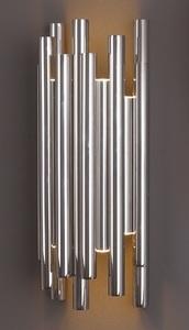 ORGANICKÁ CHROM nástěnná lampa s funkcí stmívání světla W0186D Max Light small 0