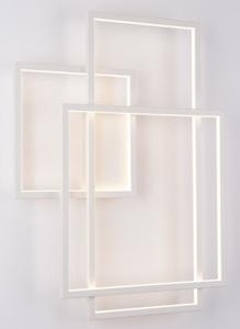 Geometrická nástěnná lampa bílá W0234 Max Light small 1