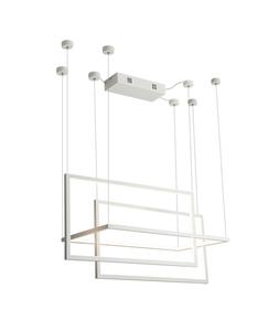 Geometrická nová závěsná lampa bílá P0302 Max Light small 0