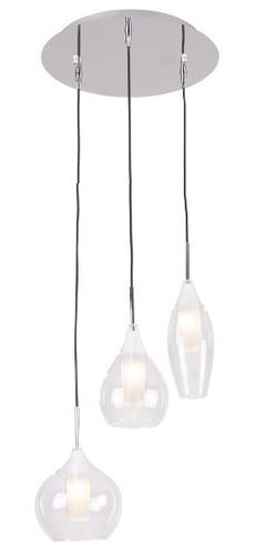 Městská závěsná lampa 3L P0343 Max Light