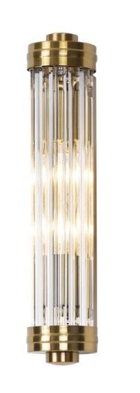 Florence nástěnná lampa mosaz W0240 Max Light