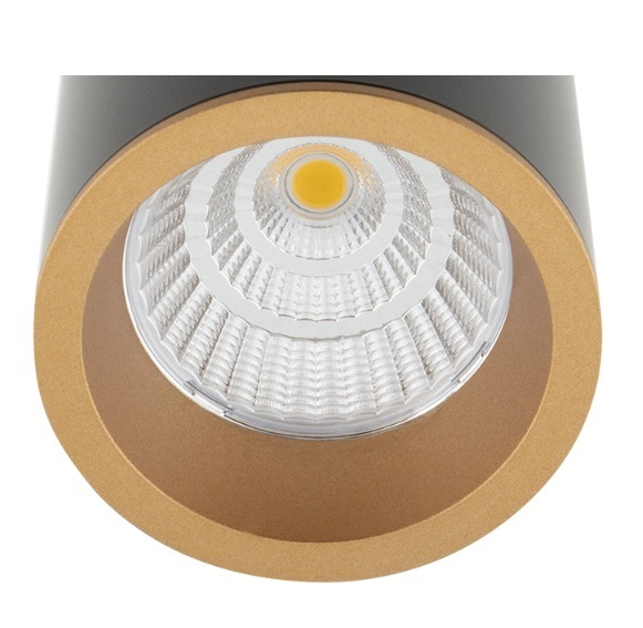 Dlouhý RC0153 / C0154 Zlatý dekorativní prsten Max Light