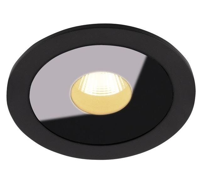 Plasma H0088 Zapuštěné svítidlo černé IP54 Max Light