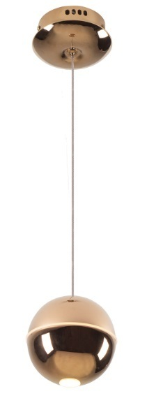 Zen 1 závěsná lampa měď P0314 Max Light