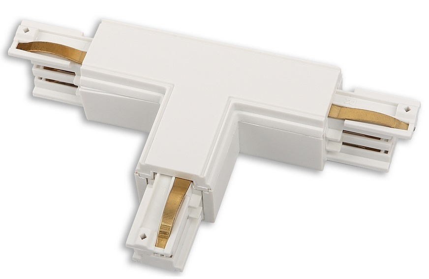 Konektor TRACK T pravý bílý MHT1-T / R-WH Max