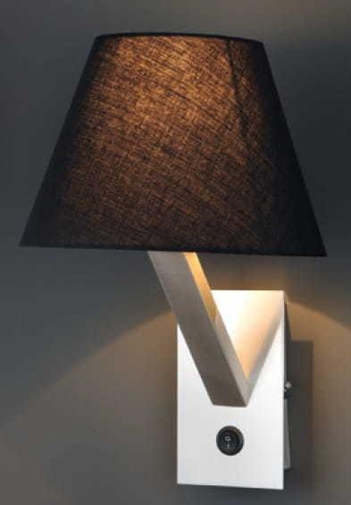 Orlando svítilna černá saténová 5103W / BLNM Max Light
